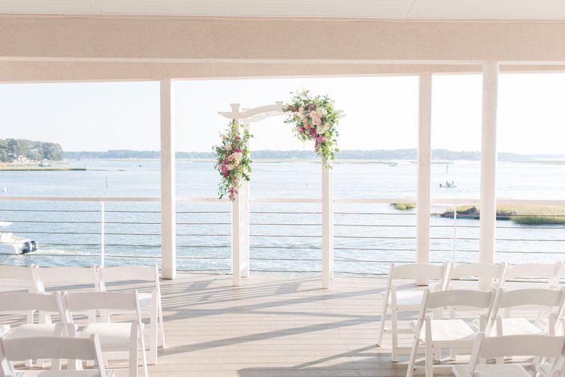 Sunset deck ceremony