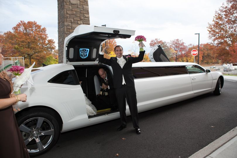 The long white limo