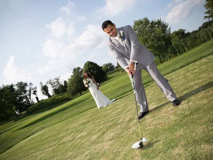 Tmx 1430953740333 Couple Golfing Kenilworth, NJ wedding venue