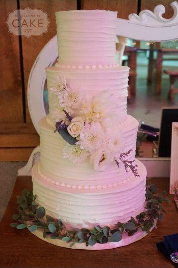 emily teds wedding cake