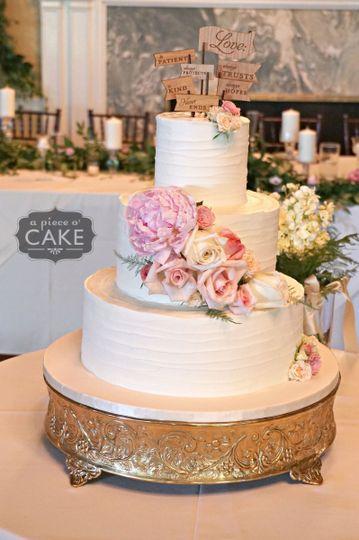 e95405655d60359c 1481306175130 love is patient wedding cake