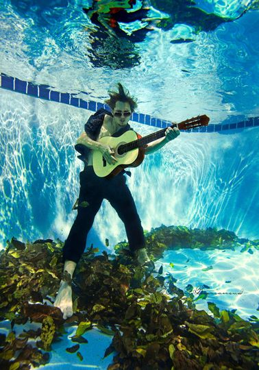 underwater guitar rock solomon by romi burianova