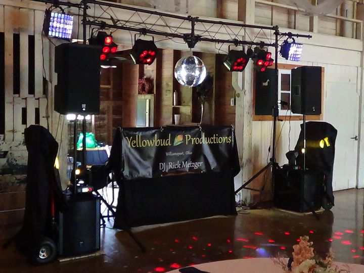 Tmx 1447013326919 Yellowbud Productions Setup At Little Brook Meadow Williamsport, OH wedding dj