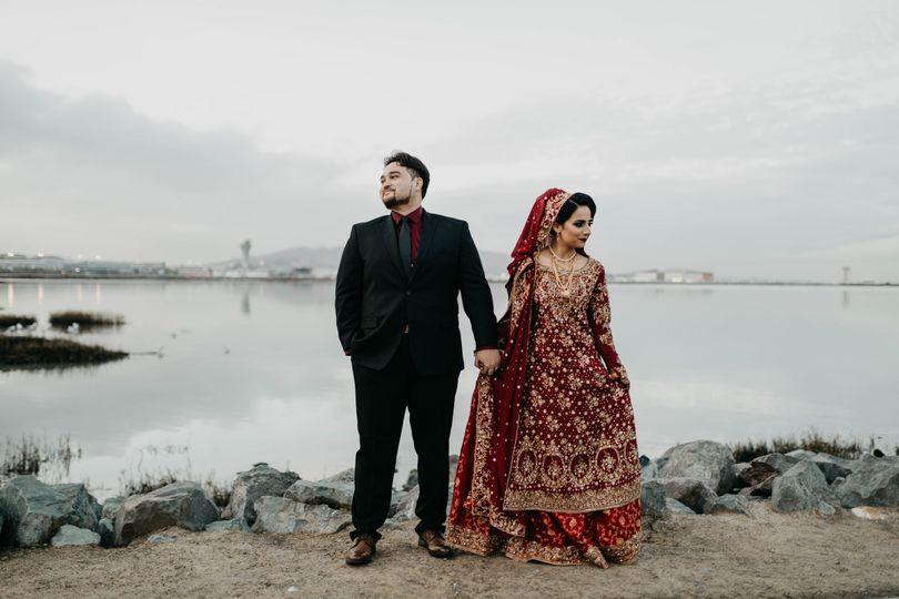 Muslim wedding in sausalito