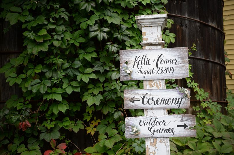 Wedding signages