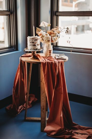 Homemade Cake table!