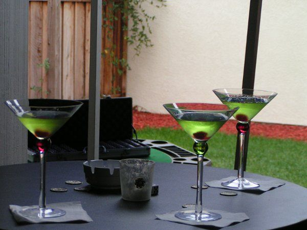 My specialty Apple Martinis