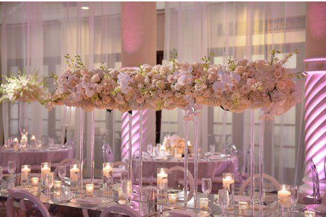 Floral Centerpiece - Hotel Colonnade Coral Gables