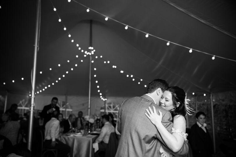 Sweet wedding dance