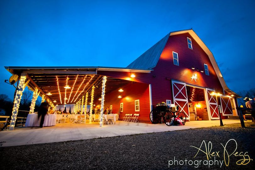 Raleigh Nc Indoor Wedding Venue: Millikan Farms