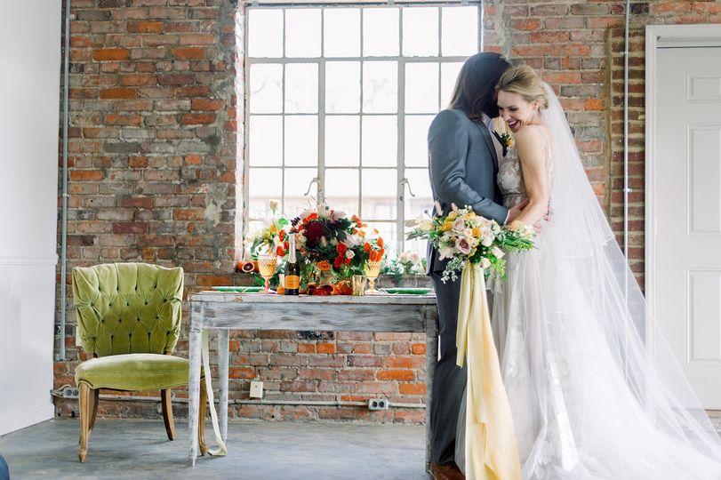 Bride & Groom Tablescape