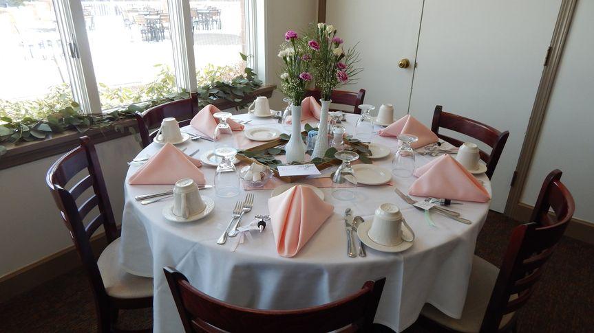 Bridal shower - dining room