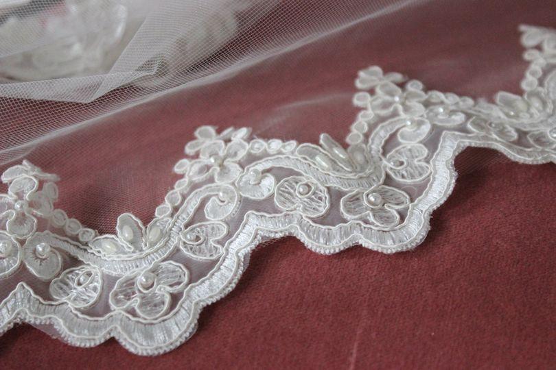 Royal beaded lace