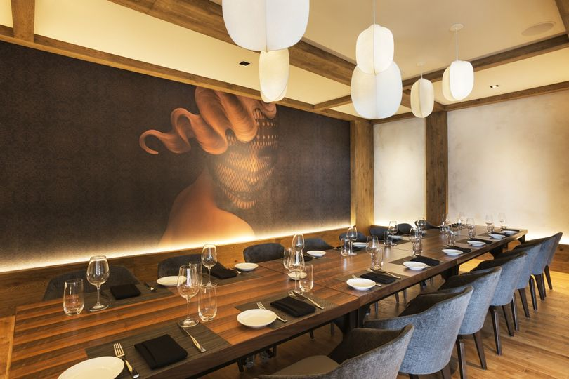 The private dining room at Lela provides an intimate and unique dining experience for your guests....