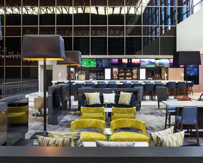 The Sheraton Lobby