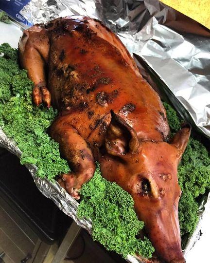 Lechon (whole roast pig)