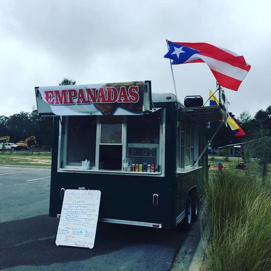 Our Food Truck. Bringing our handmade delicious creations anywhere along the Emerald Coast