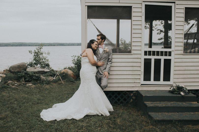 A Maine Wedding on Unity Pond