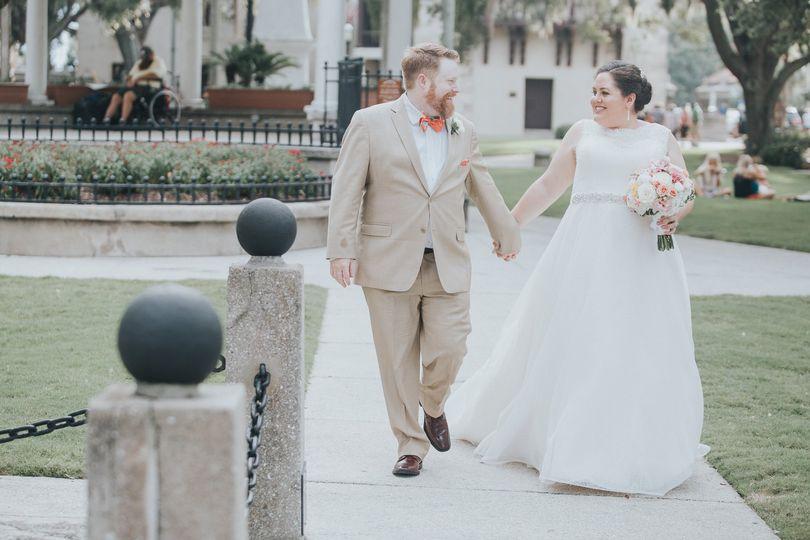 A St. Augustine, FL Wedding