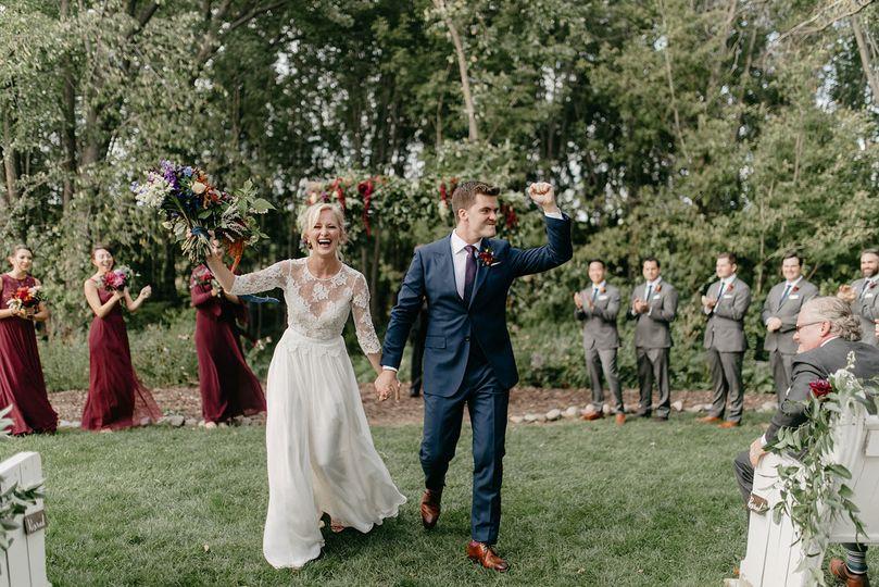 Bloom Lake Barn Wedding