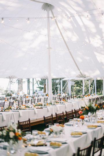 Madeline Island Tented Wedding