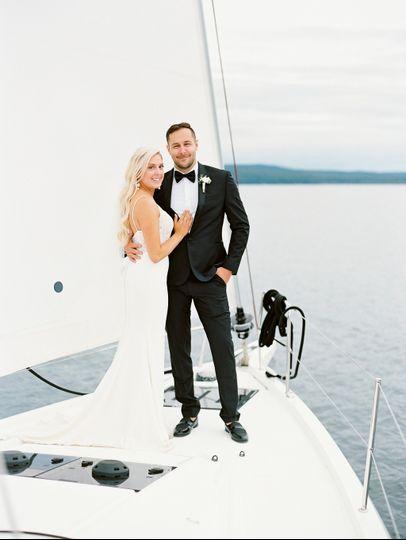 Bayfield, WI Sailboat Wedding