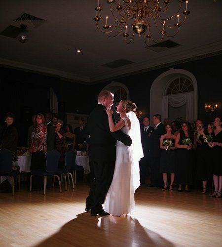The Ballroom is anchored by a stunning chandelier highlighting the dance floor. It makes for a...