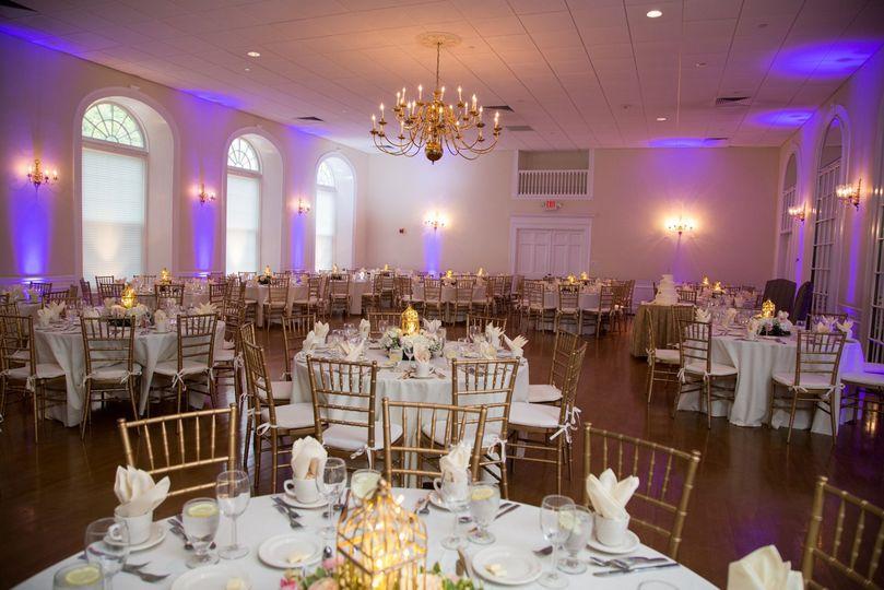 Ballroom with Uplighting