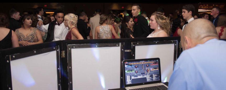 DJ at his booth