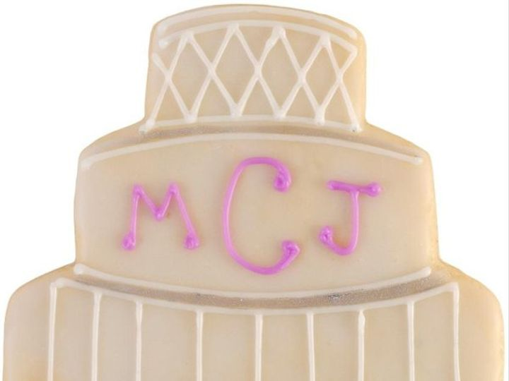 Tmx 1246237528125 WeddingCookie1 Houston wedding cake