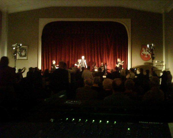 Grand Ballroom, Concert Setting