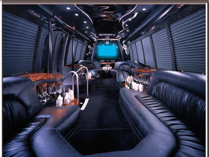 Tmx 30 Passenger Limo Bus Interior 2 51 303291 Brooklyn, NY wedding transportation