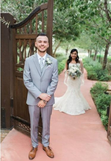laura 11 3 17 and her groom 51 534291 160825665982461