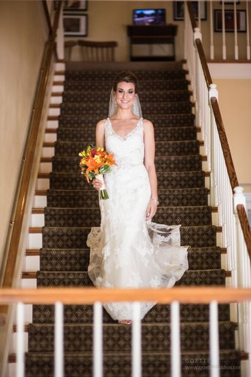On the stairs | Goette Studios Photography