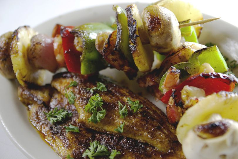 kabobs blackened catfish