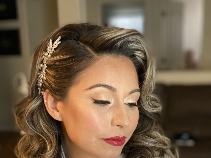 Tmx Red Lip 51 1905291 160218533495834 Modesto, CA wedding beauty