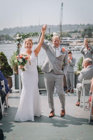 The MV Skansonia Wedding