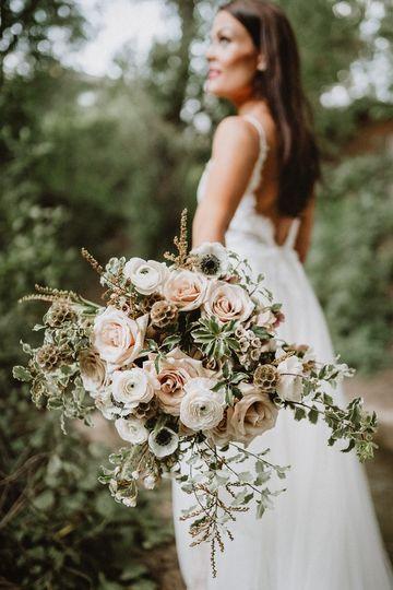Blush bouquet.