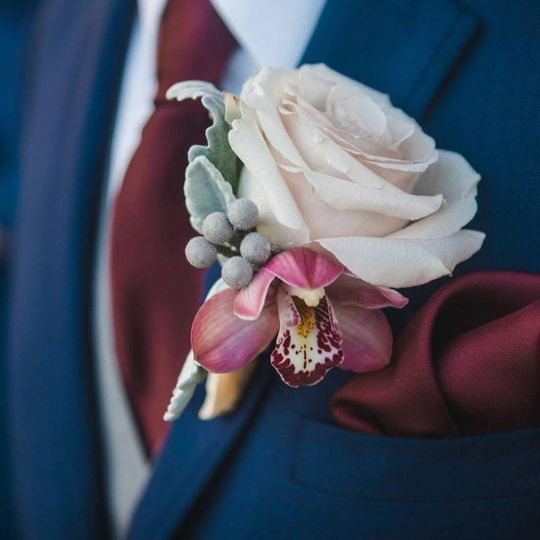 Boutonniere in style