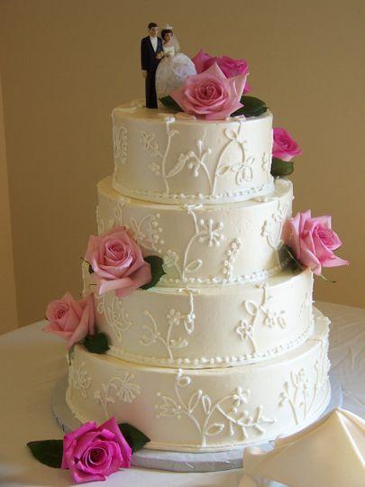 goodness cakes bakery ltd wedding cake rochester ny weddingwire. Black Bedroom Furniture Sets. Home Design Ideas