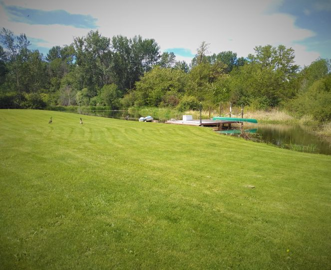 Sprawling lawns