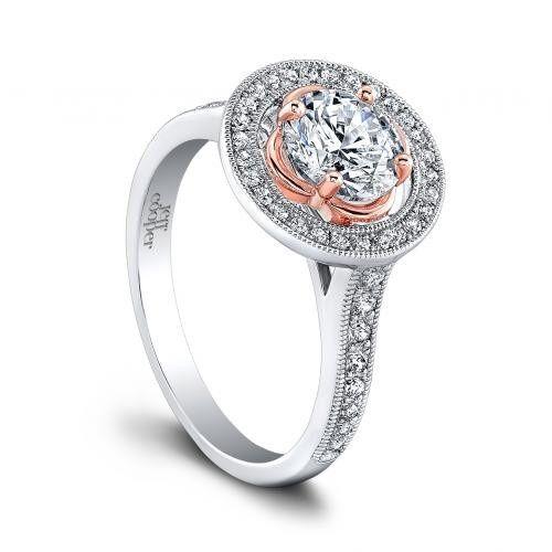 Beautiful halo ring