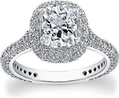 Tmx 1375215039710 Flyerfit Micro Pave Diamond Halo Engagement Ring 5211scue 1 C Vienna wedding jewelry