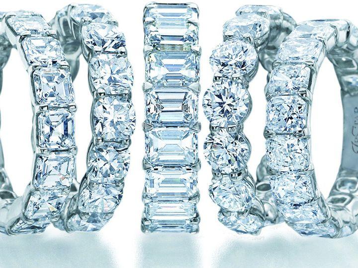 Tmx 1375215077663 Eternityringscropped Vienna wedding jewelry