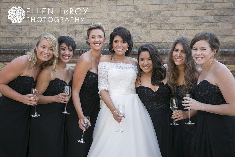 Bridal Party spray tans