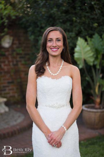 Bridal portrait photo shoot spray tan