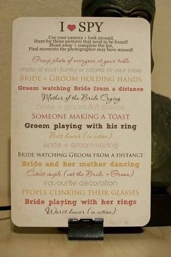 "I Spy from ""The Mother of the Bride"" the little things that count"