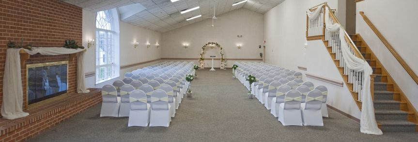 The Patuxent room is a favorite of brides, featuring a lovely staircase, fireplace and two large...
