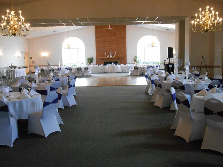 The Chesapeake and Potomac rooms can be combined for a maximum capacity of 375 guests for wedding...