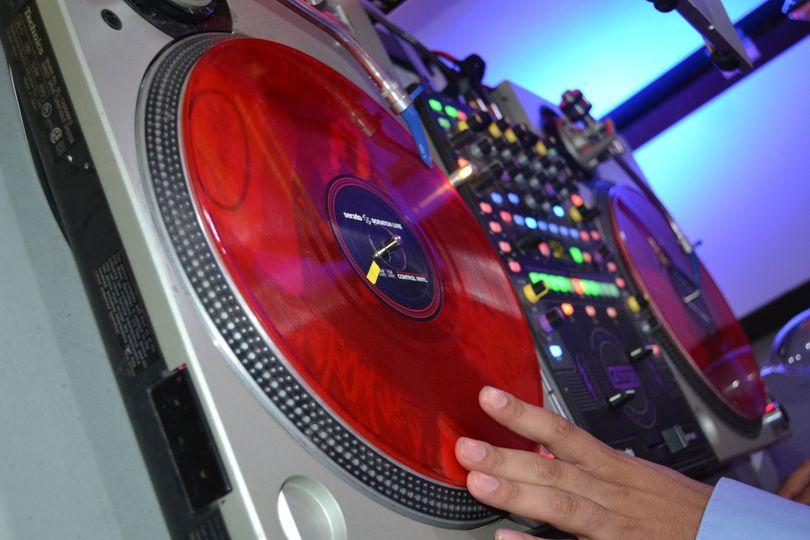 Trademark DJ Entertainment turntable
